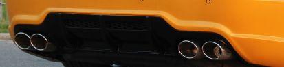 PD 63 Series Heckdiffusor für Mercedes SL R230/R230FL