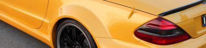 PD 63 Series Heckverbreiterungen für Mercedes SL R230/R230FL