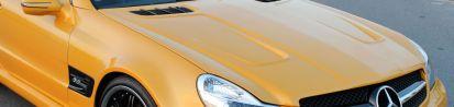 PD 63 Series Motorhaube für Mercedes SL R230/R230FL