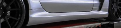 PD Black Edition Side Skirts for Mercedes SL R230