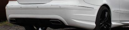 PD Rear Bumper for Mercedes CLK C209/A209