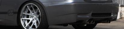 PD-M Heckstoßstange für BMW 3'er E92/E93 Coupe/Cabrio