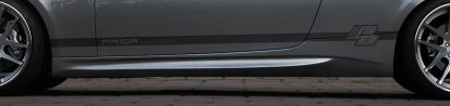 PD-M Seitenschweller für BMW 3'er E92/E93 Coupe/Cabrio
