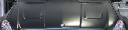 PD-Series Black Edition Motorhaube für Mercedes SL R230