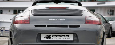 PD3 Heckstoßstange passend für alle Porsche 911 (996.1/996.2) Modelle (außer Turbo - auch PDC möglich)