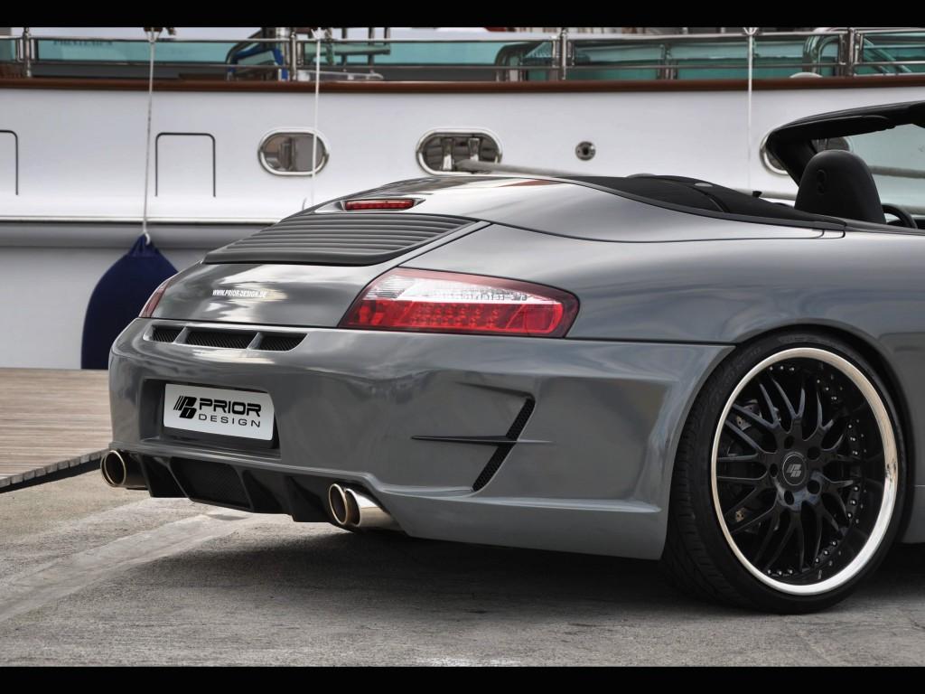 PD1 Heckstoßstange für Porsche 911 996.1 / 996.2 - 997 GT3 Conversion Kit