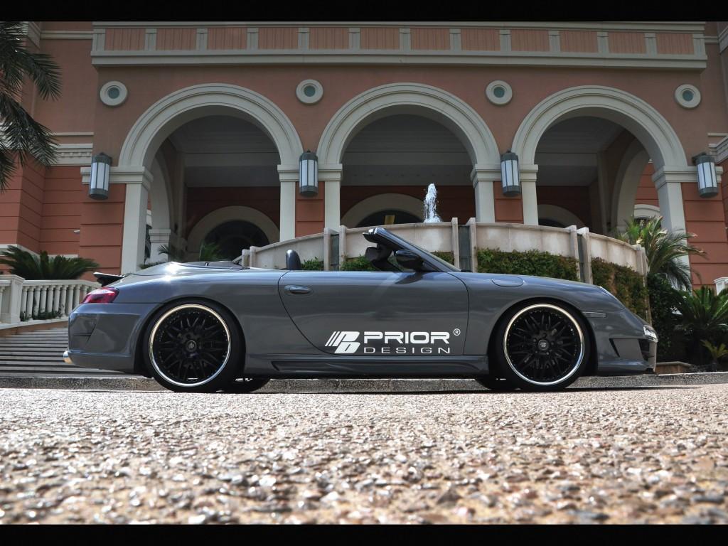 PD3 Seitenschweller für Porsche 911 996.1 & 996.2 - 997 GT3 Conversion Kit