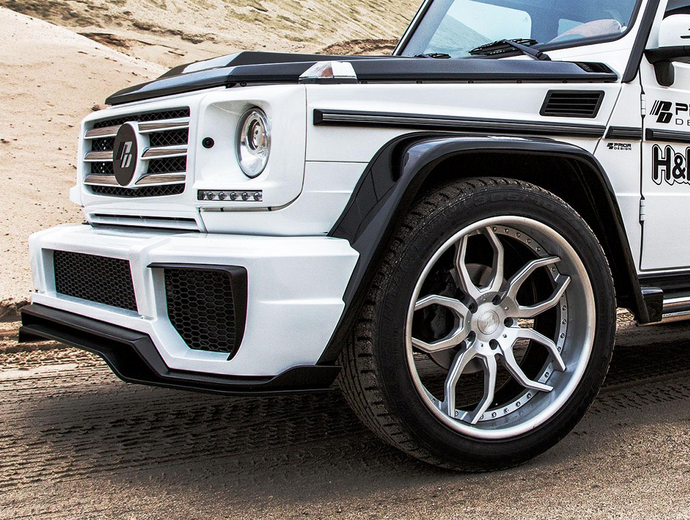 P650D Front Bumper suitable for Mercedes G-Class W463