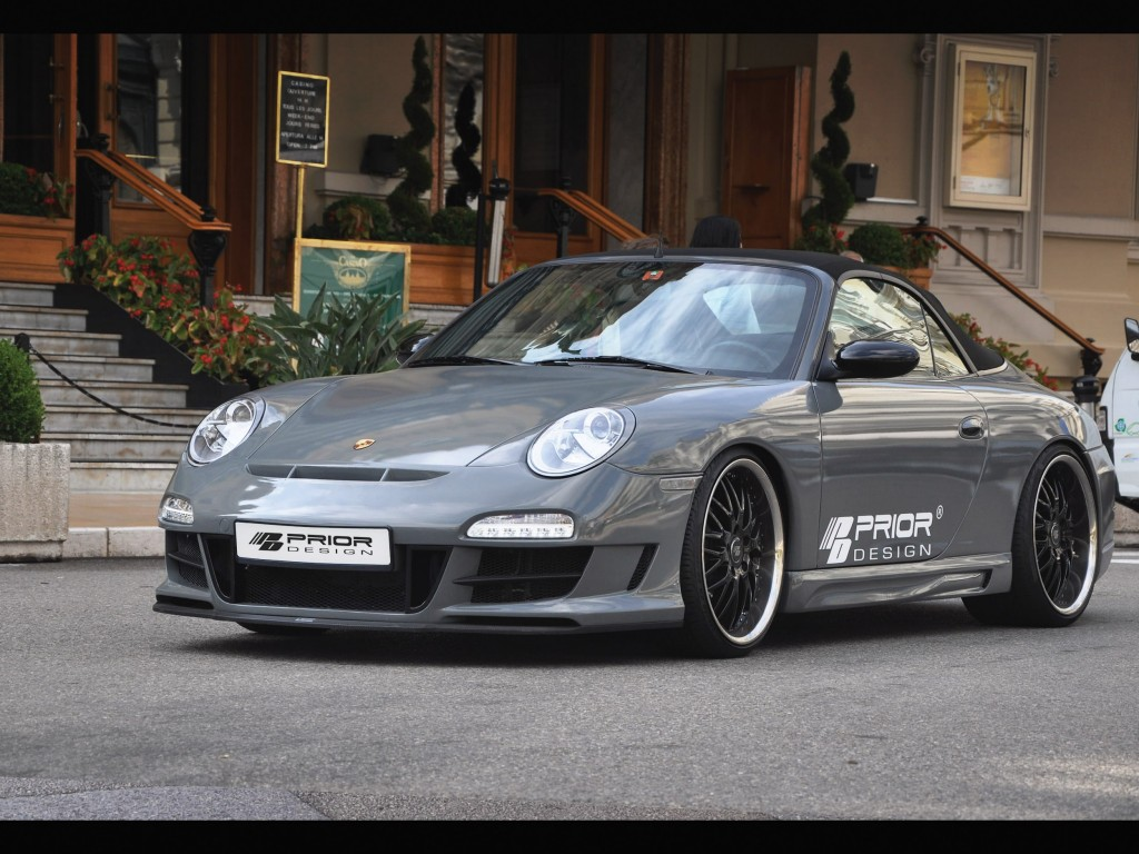 PD3 Frontstoßstange für Porsche 911 996.1 & 996.2 - 997 GT3 Conversion Kit
