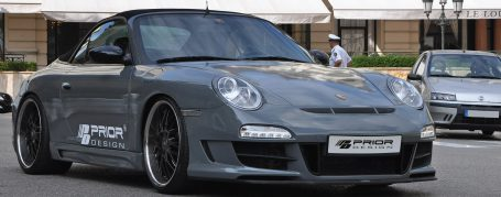 PD3 Frontstoßstange passend für alle Porsche 911 (996.1/996.2) Modelle (außer Turbo - auch PDC/SRA möglich)