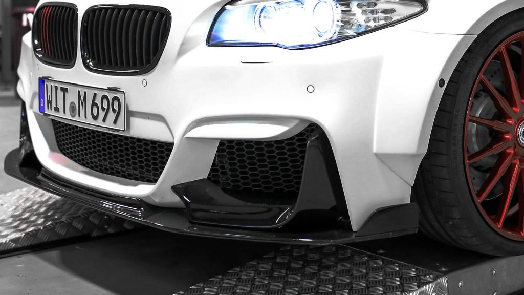 PD55X Frontstoßstange + Frontspoiler für BMW M5 F10