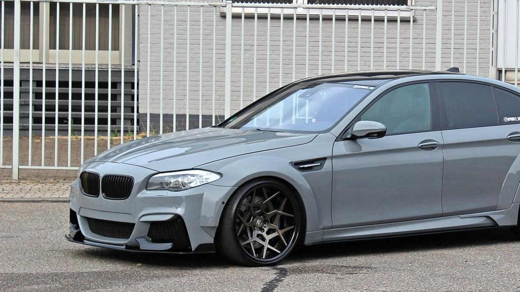 PD55X WB Widebody Frontkotflügel für BMW M5 F10