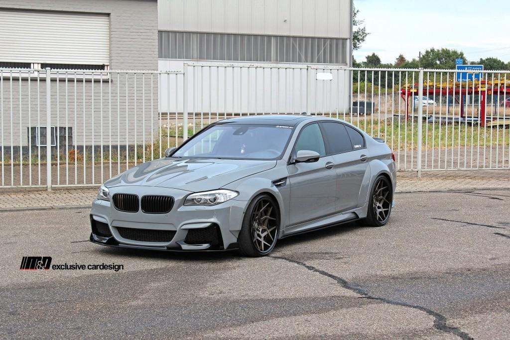 PD55X WB Widebody Frontstoßstange für BMW M5 F10
