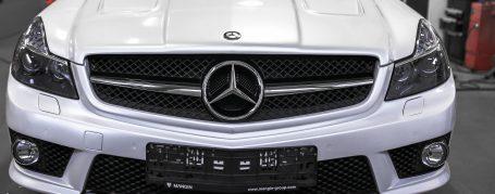 PD63 Frontstoßstange passend für Mercedes SL R230/R230FL