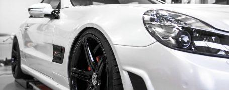 Mercedes SL R230 Tuning - PD63 Aerodynamik-Kit / Body-Kit