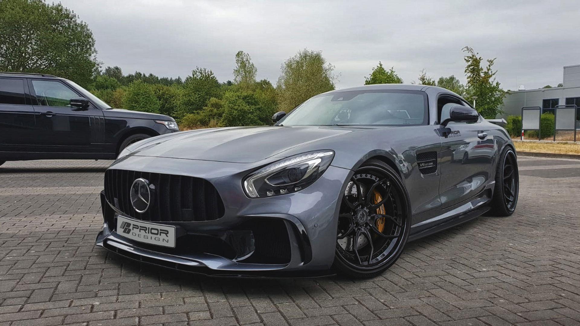 Mercedes AMG GT/GTS & GTC Tuning | PD700GTR Aerodynamic ...