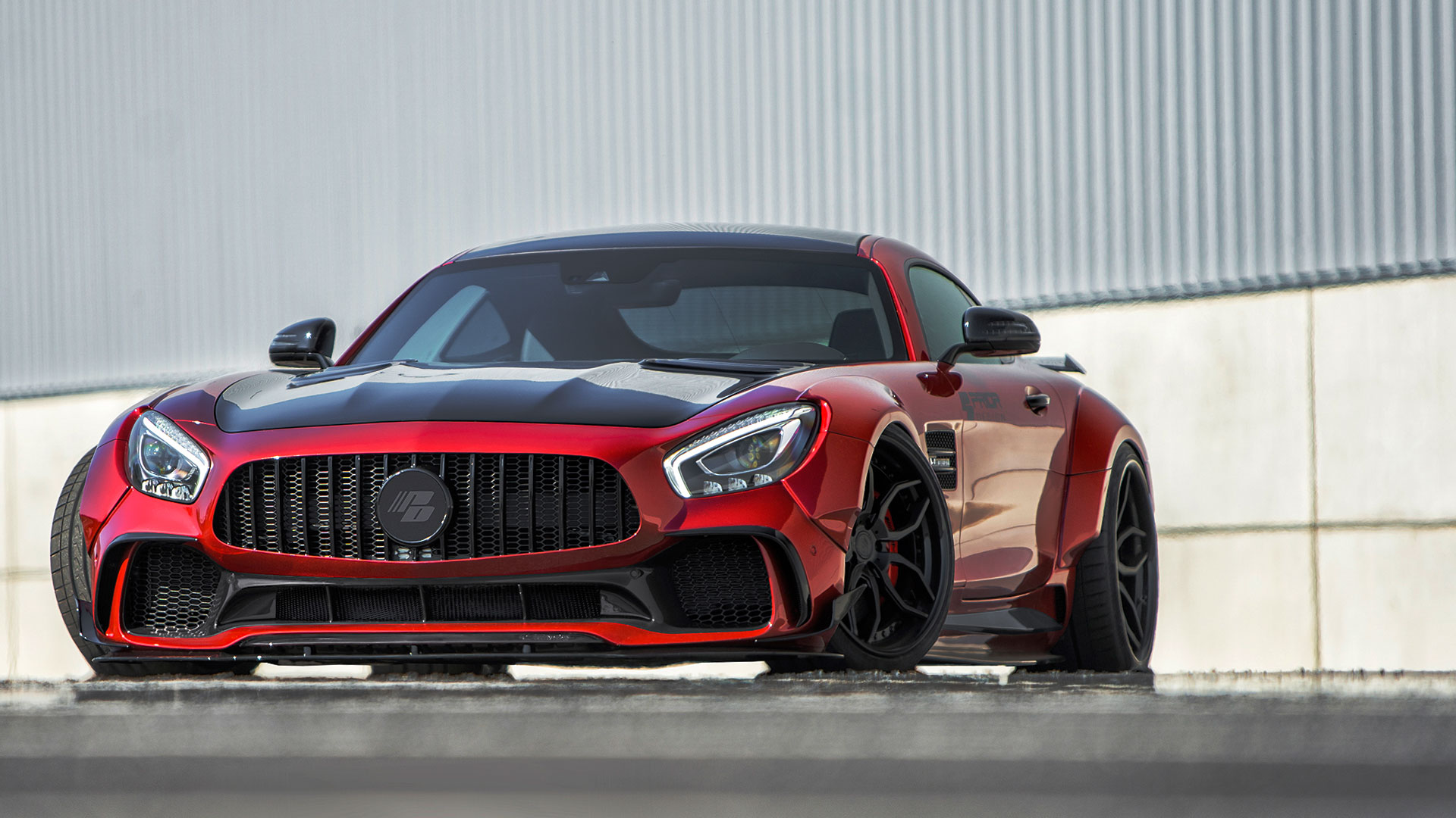 mercedes gt gts gtc amg tuning pd700gtr wide body aerodynamic kit pd3 forged wheels in. Black Bedroom Furniture Sets. Home Design Ideas