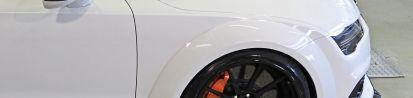PD700R Widebody Frontverbreiterung 4-tlg. für Audi A7/S7/RS7