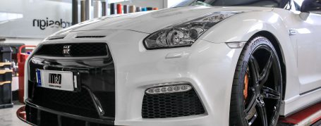 PD750 Front Bumper for Nissan GT-R R35