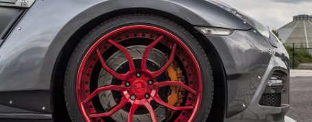 PD750 WB Widebody Front Widenings for Nissan GT-R R35