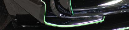 PD800GT Cupwings/Seitlichen Kiemen FRONT (2 Stück) für Mercedes GT/GTS [C190]