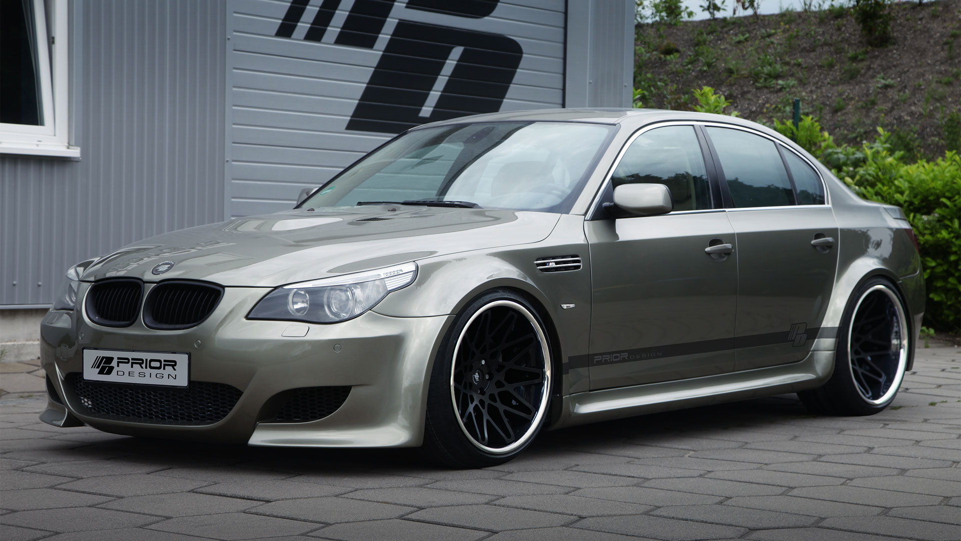 Bmw 5 Series M5 E60 Limousine Tuning Pdm5 Widebody Aerodynamic Kit M D Exclusive Cardesign