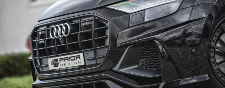 PDQ8XLWB Front Add-On with Spoiler Lip for Audi Q8