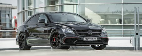 PDV4 Front Bumper incl. Front Spoiler for Mercedes CLS W218