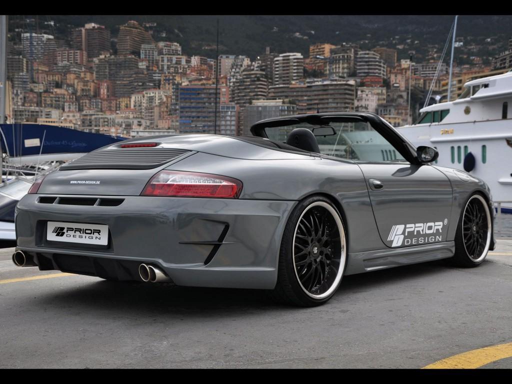 Porsche 911 996 >> 997.2 Conversion Kit - PD3 Aerodynamik-Kit