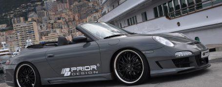 Porsche 911 996.1 -> 997.2 Umbaupaket - PD3 Aerodynamik-Kit