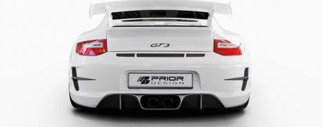 PD Heckstoßstange für alle Porsche 911 997.2 Modelle (ausser Turbo - auch PDC verbaubar)