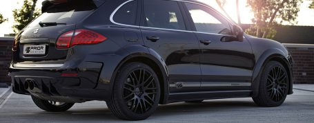 PD600WB Side Skirts for Porsche Cayenne 958