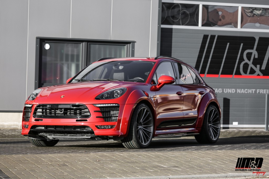 Porsche Macan 95B Turbo S - PD600M Widebody Aerodynamik-Kit