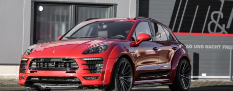 Porsche Macan 95B Tuning - PD600M Widebody Aerodynamic Kit