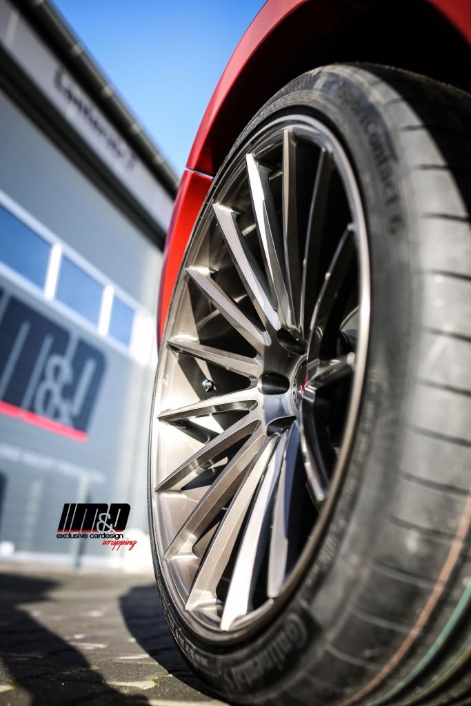 Porsche Macan 95B Felgen - Vossen Wheels VPS-305 in 10.5x22''