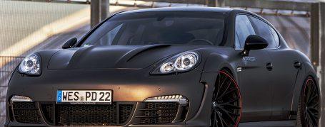 P600WB Frontstoßstange inkl. Frontspoiler für Porsche Panamera 970