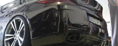 P600 Rear Bumper for Porsche Panamera 970