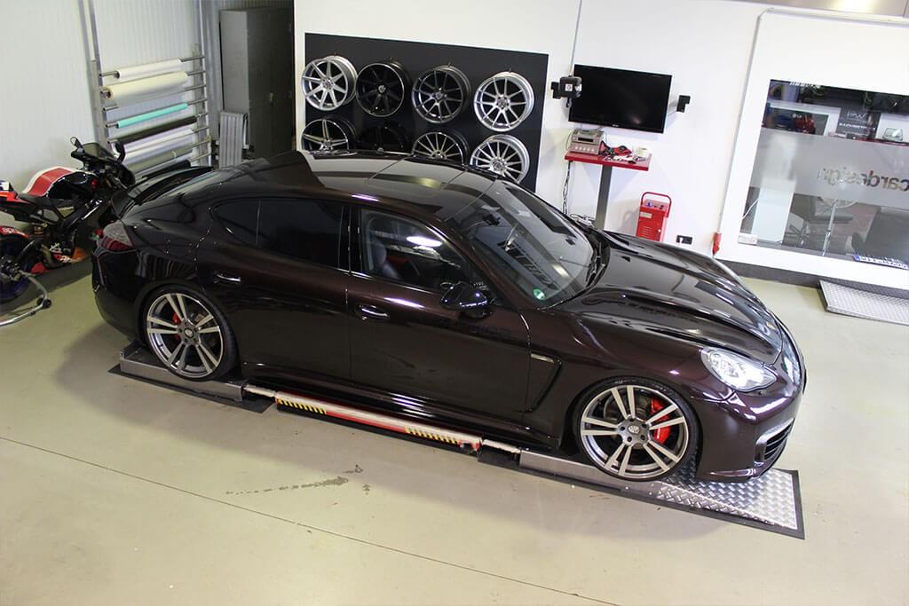 P600 Seitenschweller für Porsche Panamera 970