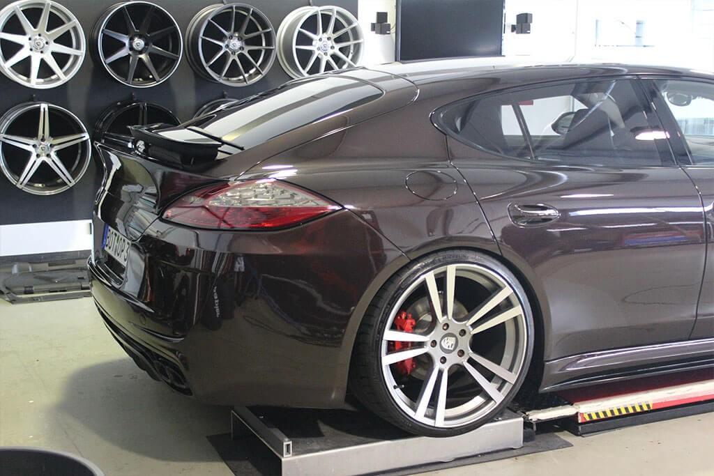 P600 Heckklappenspoiler für Porsche Panamera 970
