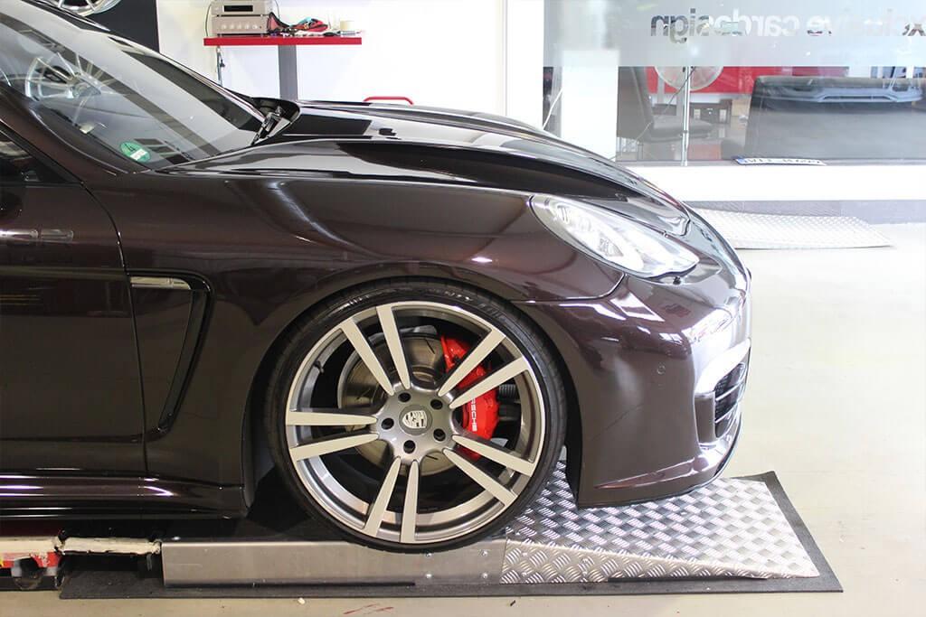 P600 Frontstoßstange inkl. Frontspoiler für Porsche Panamera 970
