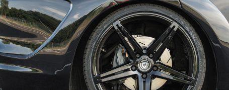 Porsche Panamera 971 Wheels - artFORM AF301 Black Painted