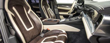 Porsche Panamera 971 exklusive interior - two-tone leather + alcantara