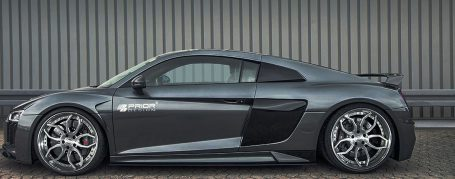 PD800WB Side Skirts (2-pcs.) for Audi R8 4S Coupe/Spyder [2015+]