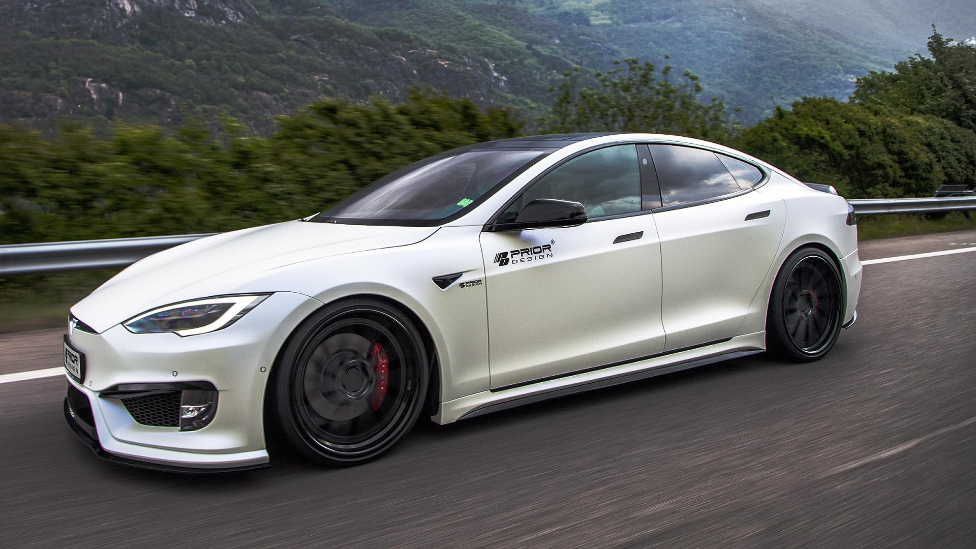 Body Kit For Tesla Model S 2016