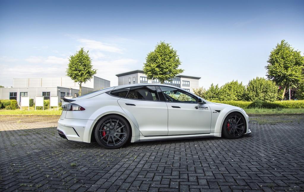 Tesla Model S [2016+] Tuning | PD-S1000 Wide Body