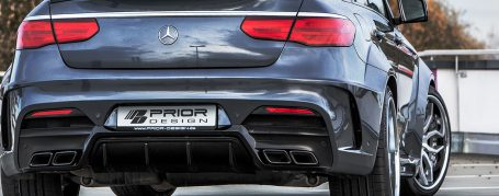 PDG800X Widebody Diffusor für Mercedes GLE Coupe C292