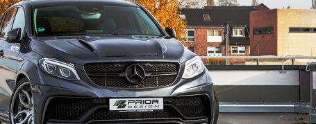 PDG800X Widebody Frontstoßstange für Mercedes GLE Coupe C292