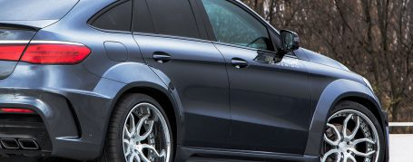 PDG800X WB Rear Widenings for Mercedes GLE Coupé C292