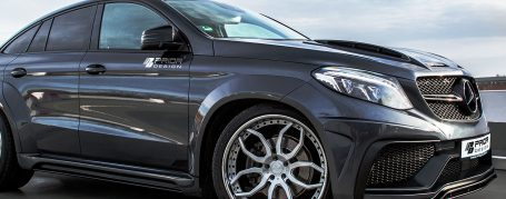 PDG800X WB Side Skirts for Mercedes GLE Coupé C292
