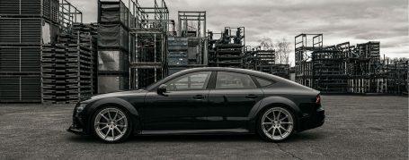 PD700R Seitenschweller + Lippe für Audi A7/S7/RS7 C7